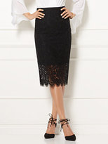 New York & Co. Eva Mendes Collection - Emma Lace Pencil Skirt