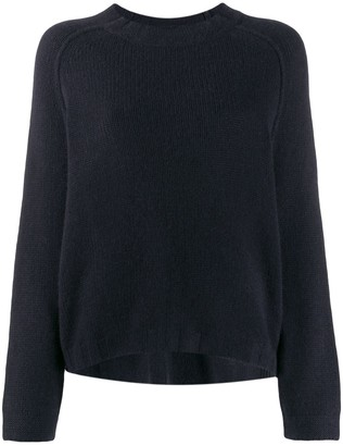 Kristensen Du Nord Ribbed Neck Chunky Knit Sweater