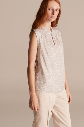 Rebecca Taylor Tailored Daisy Petal Top