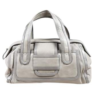 Pierre Hardy Grey Leather Shoulder bags