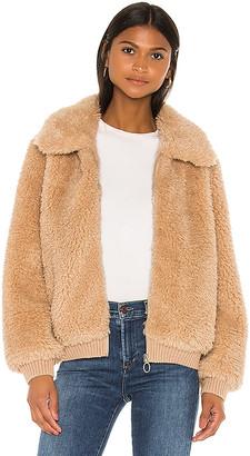 Heartloom Mosey Faux Fur Jacket