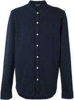 Michael Kors band collar shirt - men - Cotton - M