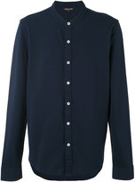 Michael Kors band collar shirt - men - Cotton - S