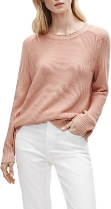 Eileen Fisher Organic Linen & Cotton Knit Top
