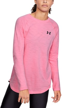 Under Armour Women's Charged Cotton Adjustable Long Sleeve