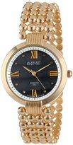 August Steiner Women's AS8065YG Diamond Mother-Of-Pearl Swiss Quartz Bracelet Watch