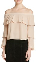 Bardot Off-The-Shoulder Ruffle Top - 100% Bloomingdale's Exclusive