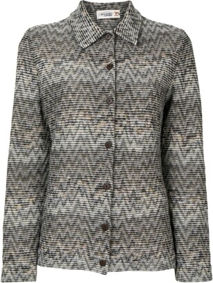 Missoni Pre-Owned Zig-Zag Pattern Shirt