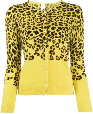 Ultràchic Leopard Print Cardigan