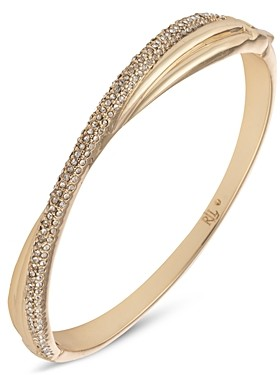 Ralph Lauren Pave Twist Bangle Bracelet