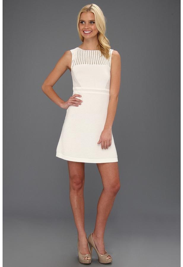 Nanette Lepore Capazzo Dress (Ivory) - Apparel