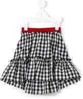 Mi Mi Sol - checked skirt - kids - Cotton/Polyester - 2 yrs