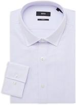 HUGO BOSS Jenno Slim-Fit Striped Dress Shirt