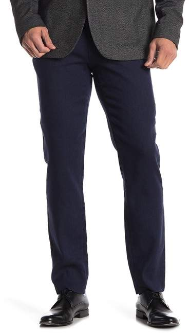Ted Baker Hinetro Flat Front Woven Classic Fit Trousers