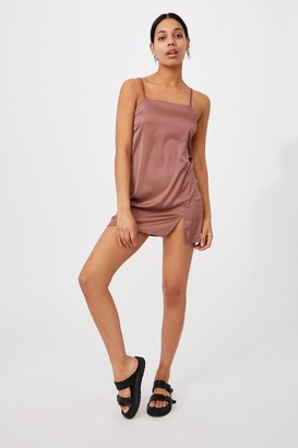 Cotton On Woven Kerr Strappy Mini Dress