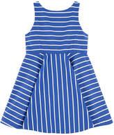 Ralph Lauren Striped hourglass dress