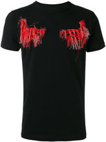 Off-White frayed patch T-shirt