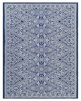 Outdoor Rug - Tapestry Blue - Threshold