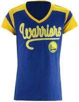 5th & Ocean Golden State Warriors Contrast Slub T-Shirt, Girls (4-16)
