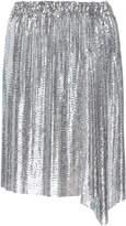 Paco Rabanne Metallic Mini Skirt