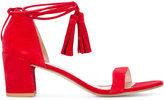 Stuart Weitzman low heel sandals - women - Leather/Suede - 36.5