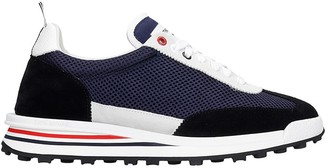 Thom Browne Sneakers In Blue Synthetic Fibers
