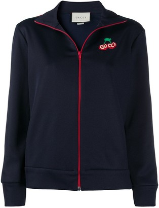 Gucci Cherry Logo Patch Track Jacket
