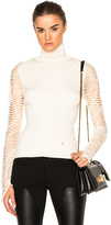 Esteban Cortazar Cropped Turtleneck Sweater