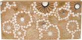 Jo-Liza Collection Chantal Clutch, Ivory/Brown