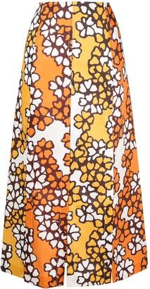 3.1 Phillip Lim Printed Multi Slit Skirt
