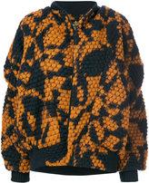 Vivienne Westwood Fever knitted bomber jacket