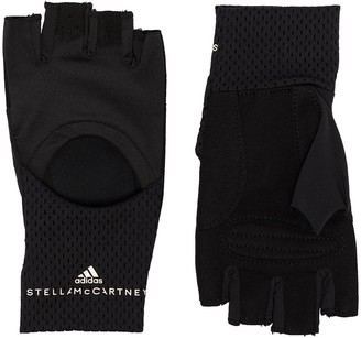 adidas by Stella McCartney Cut-Out Training Gloves
