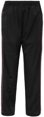 Balenciaga Striped Satin-jersey Track Pants