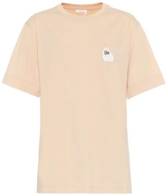 Chloé Logo cotton T-shirt