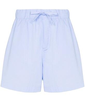 Tekla Drawstring Organic Cotton Pyjama Shorts