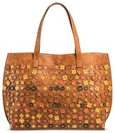 Under One Sky Women's Floral Reversible Tote Handbag