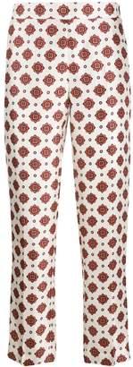 Alberto Biani floral-print trousers