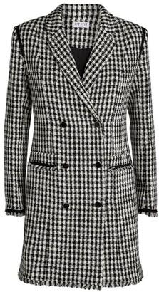 Claudie Pierlot Houndstooth Blazer Dress