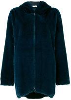 Manzoni 24 - zipped hooded jacket - women - Mink Fur - 42