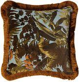 House Of Hackney Limerence Sky Fringed Velvet Pillow