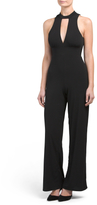 Juniors Mock Neck Jumpsuit