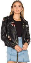 Blank NYC BLANKNYC Moto Jacket in Black