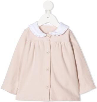 Douuod Kids Peter Pan collar blouse