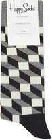 Happy Socks Optic box-patterned socks