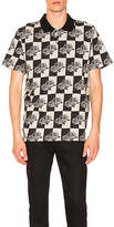 Stussy Rose Block Jacquard Short Sleeve Polo