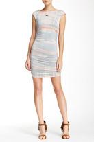 Gypsy 05 Gypsy05 Cap Sleeve Ruched Mini Dress