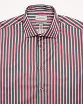 Le Château Stripe Sateen Tailored Fit Shirt