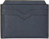 Valextra Navy 4CC Card Holder