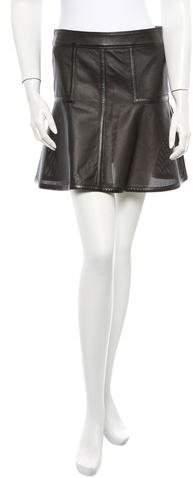 Belstaff Brompton Leather Skirt w/ Tags