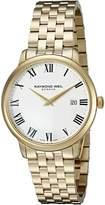 Raymond Weil Men's 5488-P-00300 Toccata Analog Display Swiss Quartz Watch